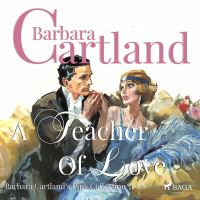 A Teacher of Love (Barbara Cartland's Pink Collection 71)