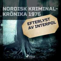 Efterlyst av Interpol